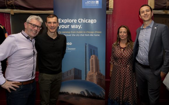 Agents Find Out More About Chicago at Belfast Event