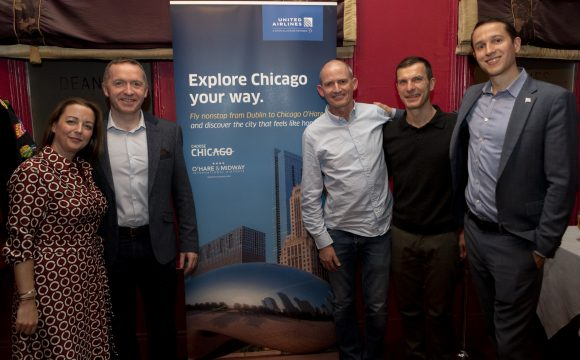United Airlines, O'Hare International Airport & Choose Chicago Event