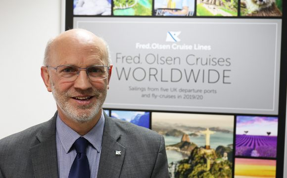 Fred. Olsen Cruise Lines' Managing Director Mike Rodwell to Retire