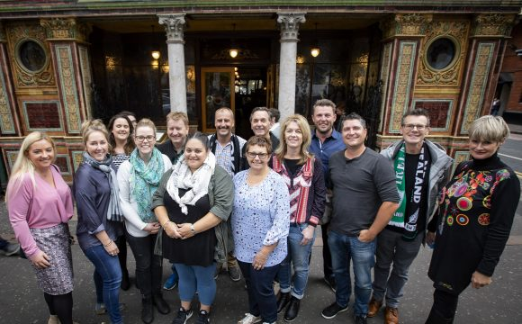 Down Under Agents See the Best of Belfast