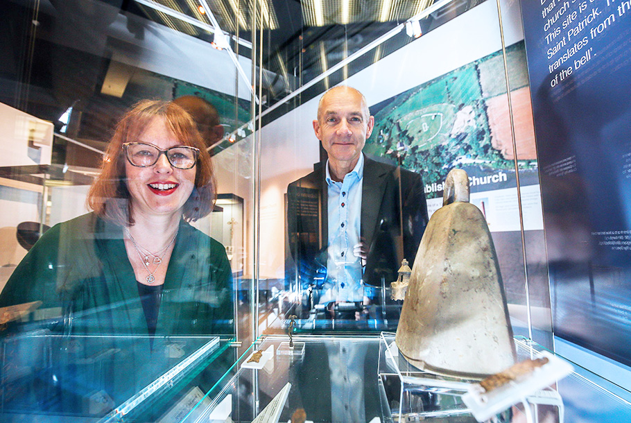 Thousand Year Old Ballyclog Bell Reveals Early church Site in County Tyrone
