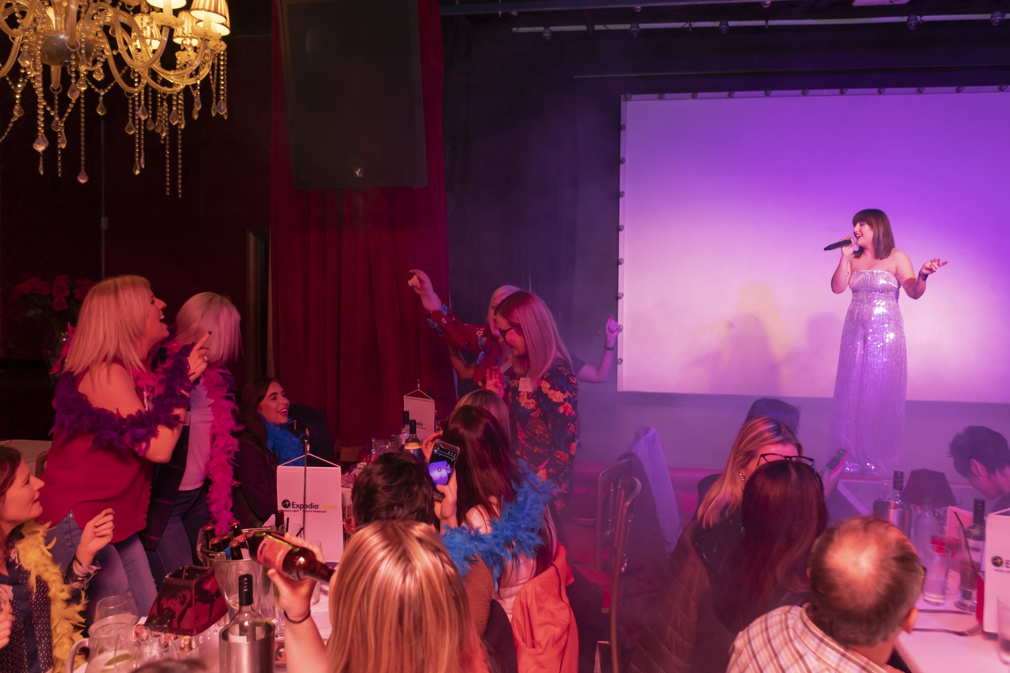Expedia TAAP | Cabaret Supper Club, Belfast | Northern