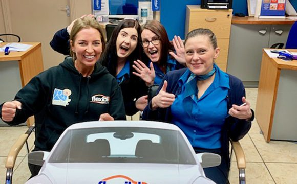 Flexible Autos Visits Agents Across Province for Mission 123