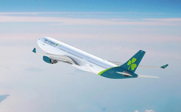 'Refreshed' Aer Lingus Logo and Livery Revealed