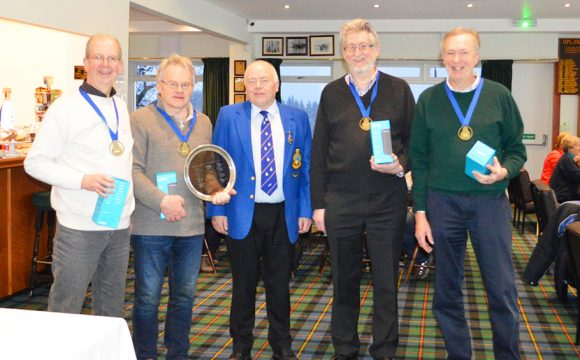 First Fred. Olsen Cruise Lines National Masters Curling Championships