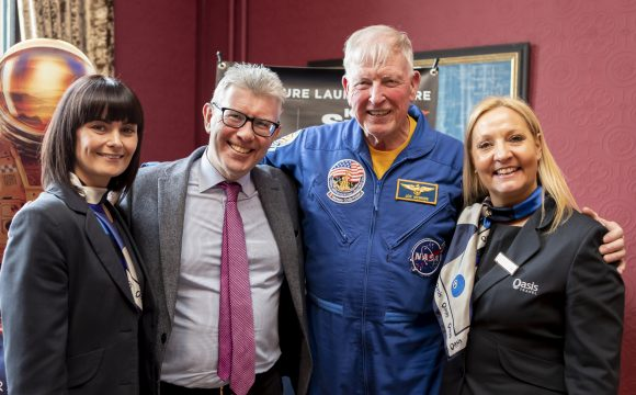American Holidays Plays Host to NASA Astronaut