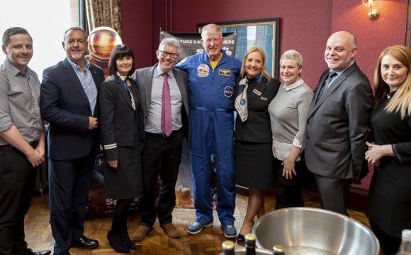 American Holidays | Lunch with Astronaut Jon McBride