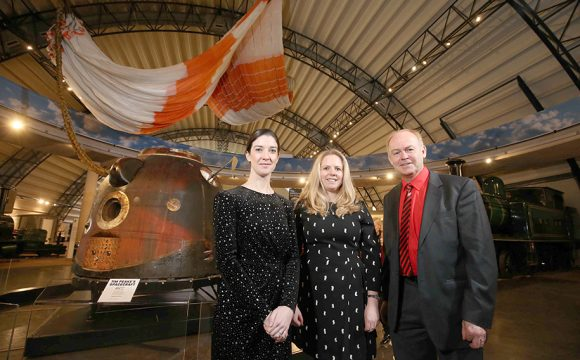 Tim Peake's Spacecraft Lands at Ulster Transport Museum
