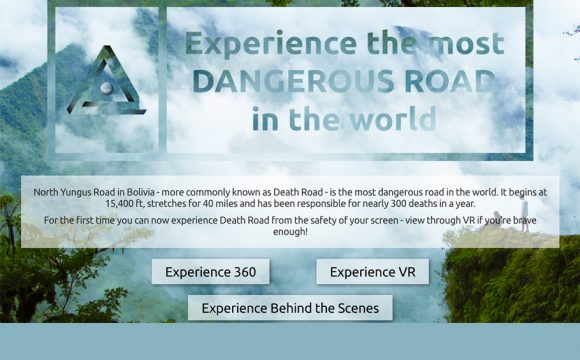 Take a Virtual Ride on the World's Most Dangerous Road