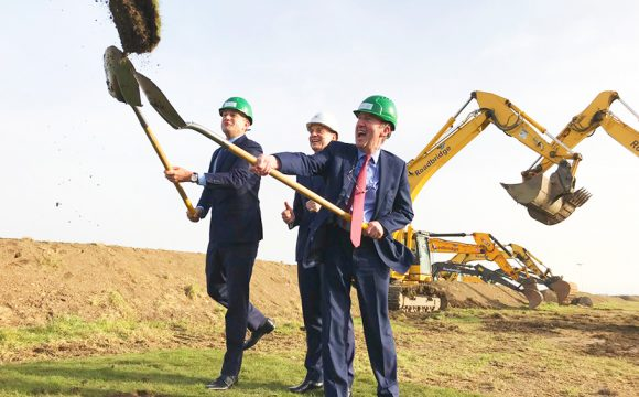 Taoiseach and Minister Ross Turn Sod on Dublin Airport's New Runway