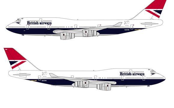 Negus Design to Complete British Airways Heritage Livery Set