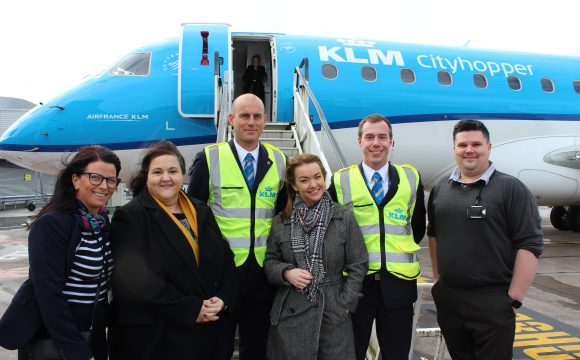 KLM & BCA Host Groups Specialists for 'TigreWeb' Training