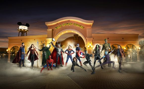 Captain Marvel Coming to Disneyland Paris