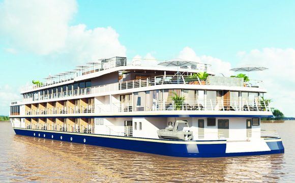 New Deluxe River Cruiser on the Mekong Goes on Sale