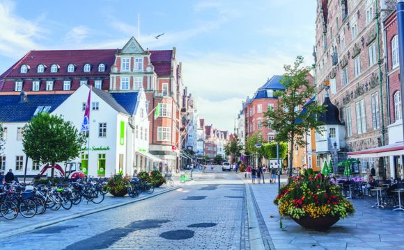 New Service to Denmark's Fourth Biggest City