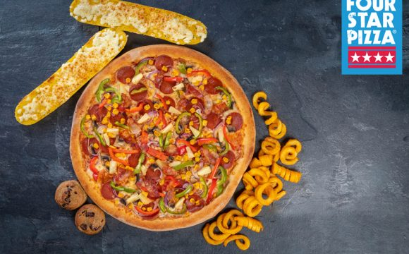 Win Free Four Star Pizza for a Year!
