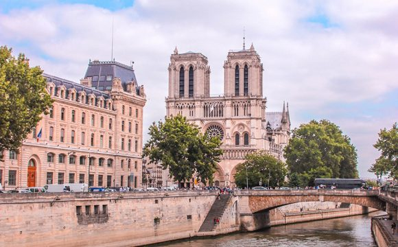 Work Resumes on Notre Dame Cathedral
