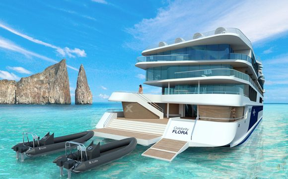 First Mega Yacht Designed Specifically for Galapagos Islands