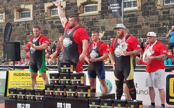 Ultimate Strongman Championships at Crumlin Road Gaol