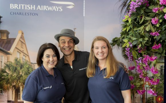 British Airways' Chill-Out Zone | The BIG Travel Trade Event 2019 | Hilton Hotel, Templepatrick