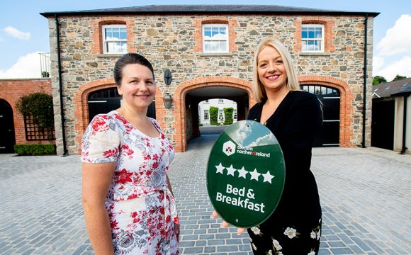 Five Stars Awarded to Dromore Boutique B&B