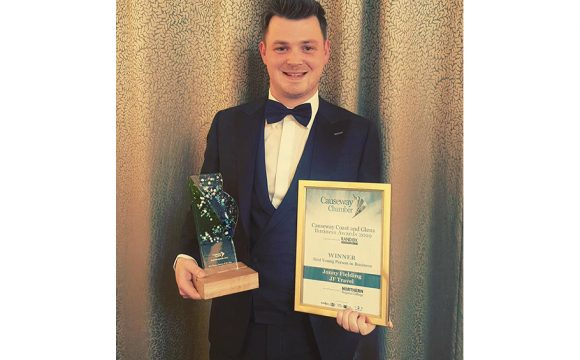 Jonny Fielding Wins Award for Best Young Person in Business