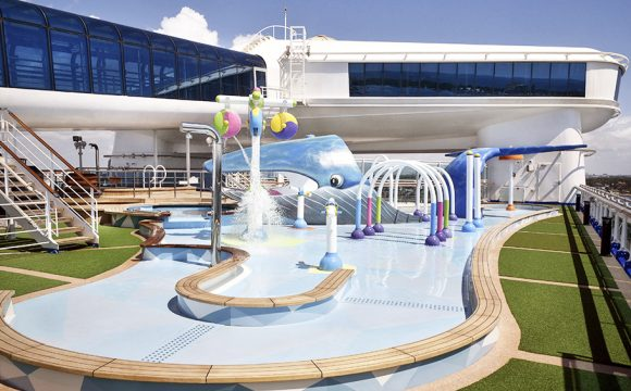 Princess Cruises Opens Family Water Playground on Caribbean Princess