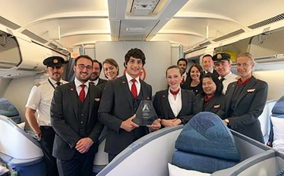 Air Canada Wins Award for Diversity in Leadership