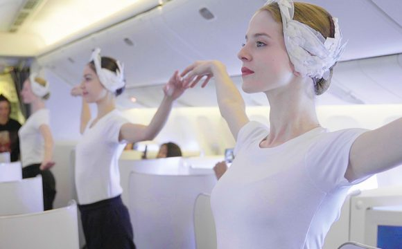 Ballet in the Sky Onboard Air France Flight