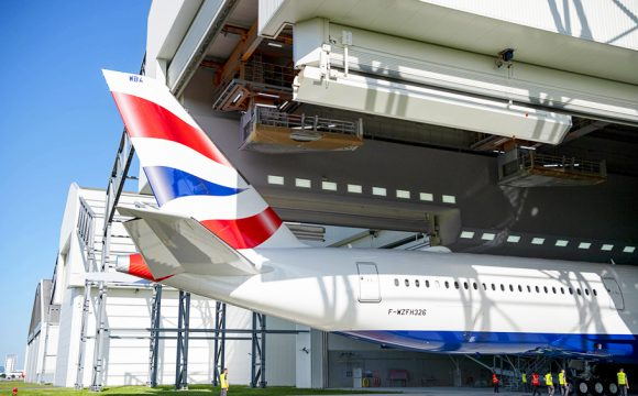 British Airways Scoops Aviation Award