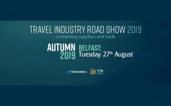 LAST CHANCE TO REGISTER for The Belfast Travel Industry Roadshow