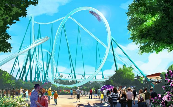SeaWorld San Diego Announces 'Emperor' as Name for New 2020 Dive Coaster