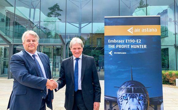 Air Astana Signs Flight Directors as GSA for UK and Ireland