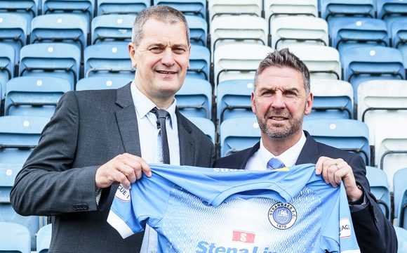 Stranraer FC and Stena Line Sponsorship Deal Breaks Record