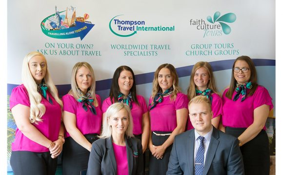 Thompson Travel International Scoop 'Independent Travel Agent of the Year' Award