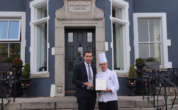 Mapas Restaurant, Fitzpatrick Castle Hotel, scoops DLR County Business Award 2019