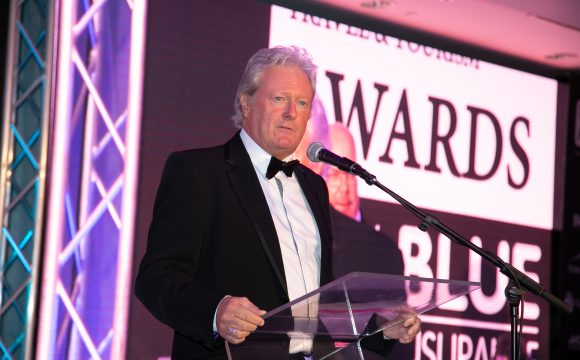 Tea and a Chat with Awards' Host Charlie Lawson
