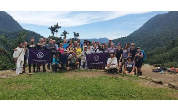 'Invincible' Not Just Travel team Trek to the Lost City of Colombia