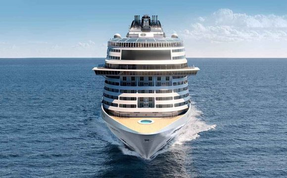 MSC's New Flagship Grandiosa Impresses Industry
