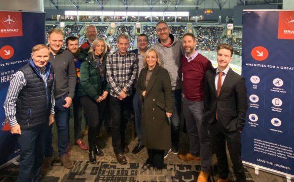 Bradley International and Aer Lingus Host Travel Trade at Friendship Four Tournament