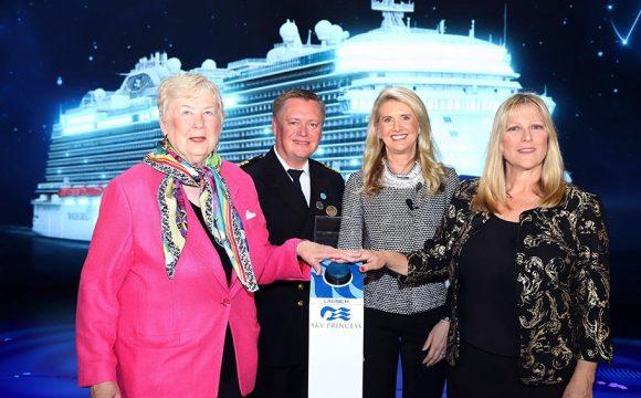 Sky Princess Officially Named by Princess Cruises