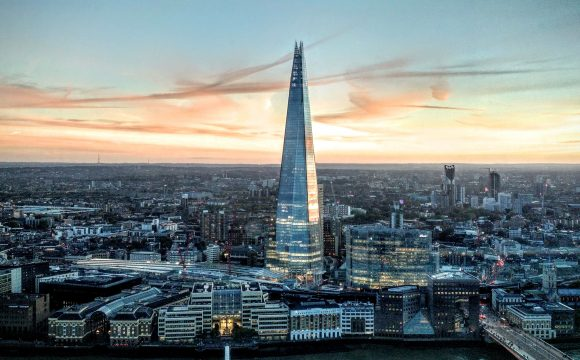 Train with TIPTO and Win an Afternoon Tea and 'View from The Shard' Experience