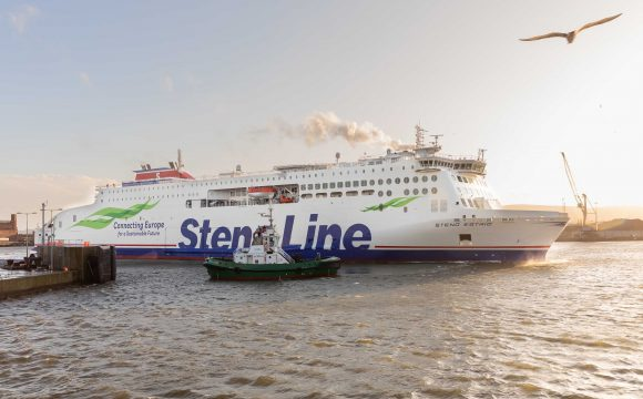 Brand New FerryStenaEstridMakes her Debut on the Irish Sea