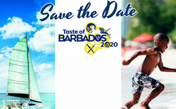 SAVE THE DATE – TASTE OF BARBADOS ROADSHOW 2020 IS COMING TO BELFAST!