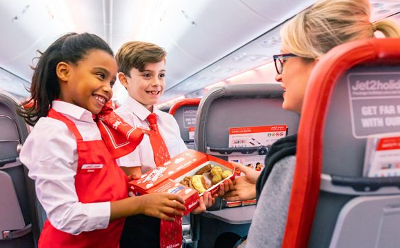Jet2.com Serves up Smiles this Random Acts of Kindness Day
