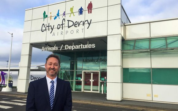 Steve Frazer Appointed as Airport Manager at City of Derry