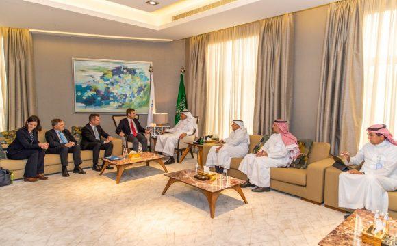 Saudi Minister of Transport Receives The German Economic Delegation