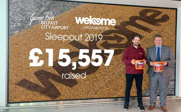 Airport Sleepout Raises Over £15,000