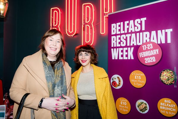 Love is on the Menu in Belfast City Centre