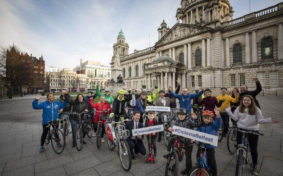 Get on the Cycle Freeway as Ciclovia Belfast Returns!